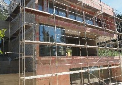 Facade works – external thermal insulation