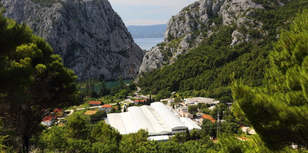The production facility Omial Novi - Omiš