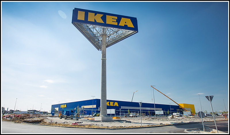 Shopping center Ikea - Zagreb